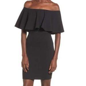 Soprano Off the Shoulder Bodycon Dress
